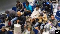 Izbeglice u nemačkom gradu Erfurtu.