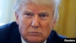 Интервью президента США Дональда Трампа агентству Рейтер