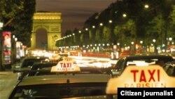 ບັນດາລົດ Taxi ໃນນະຄອນປາຣີ