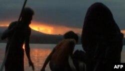 """Scena iz kratkog dokumentarnog filma """"Sun come up"""""""