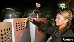 Yulia Tymoshenko, pemimpin oposisi Ukraina (Foto: dok)