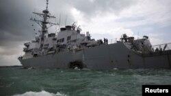 Эсминец «Джон С. Маккейн» (USS John S. McCain)