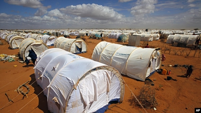 Dadaab, refugee camp Eastern Kenya, 100 kilometers (62 miles) from the Somali border