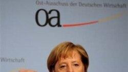آنگلا مرکل خواستار آزادی دو شهروند آلمانی زندانی در ايران شد