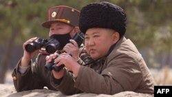 Lãnh tụ Triều Tiên Kim Jong Un.