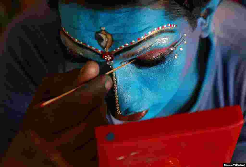 Carnaval Cochin em Kerala, India