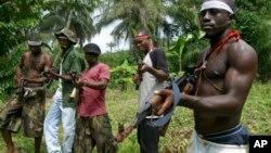 'Yan bindigar yankin Niger Delta
