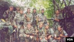 საქართველოს შინაგანი ჯარის მებრძოლები ცხინვალის სიახლოვეს 2004