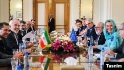 گفت و گوهای ایران و اتحادیه اروپا در تهران با حضور فدریکا موگرینی رئیس سیاست خارجی اتحادیه اروپا