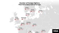IŞİD mensubu yabancı savaşçı sayısı binlerle ifade ediliyor
