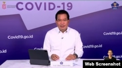 Juru Bicara Satgas Penanganan Covid-19 Prof Wiku Adisasmito. (Foto: VOA/Ghita)