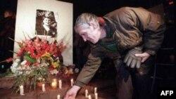 Одна из акций памяти Галины Старовойтовой. Архивное фото.