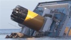 نگرانی از نشت مواد سوختی کشتی غرق شده در ساحل ايتاليا