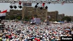Abayoboke ba Morsi mu myigaragambyo