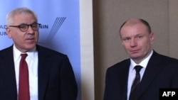 Дэвид Рубинстайн и Владимир Потанин