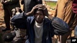 Mercenário ou imigrante? Um cidadão chadiano caputrado por revoltosos