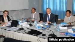 လြတ္လပ္ေသာစံုစမ္း စစ္ေဆးေရးေကာ္မရွင္ (ICOE) (ဓါတ္ပံု -independent commission of Enquiry)