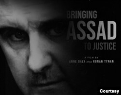 """""""Bringing Assad to Justice"""" highlights efforts by media and private citizens to demand accountability. (Photo courtesy of Esperanza Productions)"""