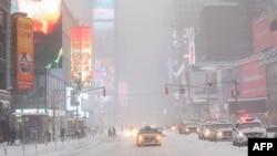 جاده های شهر نیویارک ساعت ۲:۳۰ پس از چاشت روز شنبه به وقت محل مسدود شد.