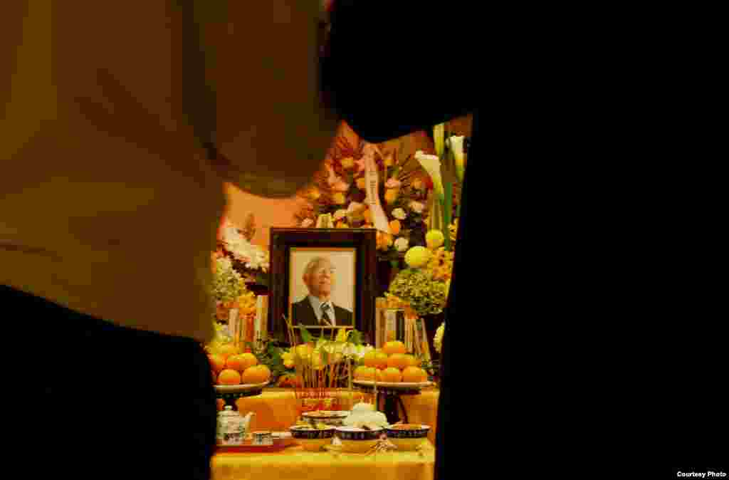 Tang lễ ông được cử hành vào Chủ nhật 21/9/14.