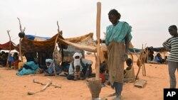 图为南苏丹的难民儿童资料照