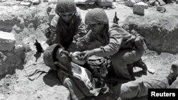 Tentara Israel di Yerusalem dalam 'Perang Enam Hari' pada bulan Juni 1967 atau 50 tahun yang lalu (foto: dok).