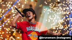 Penyanyi AS Bruno Mars. (Foto: Instagram @brunomars)