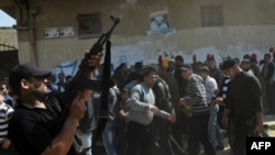 """Сектор Газа: похороны боевика """"Исламского джихада"""""""
