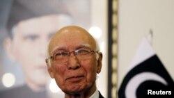 سرتاج عزیز، مشاور امنیت ملی صدارعظم پاکستان