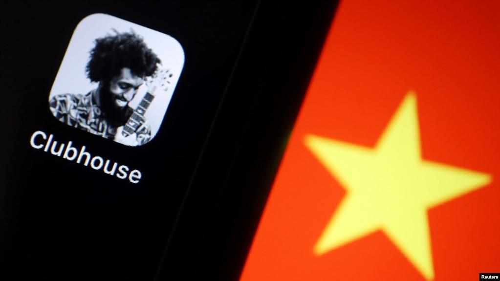 """Clubhouse""的美国语音社交应用程序在中国蹿红后被墙。(2021年2月8日)"