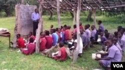 Rural school class