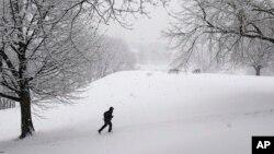 Este invierno ha sido crudo en Nueva York.