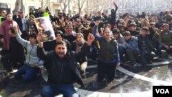 demonstration in baku