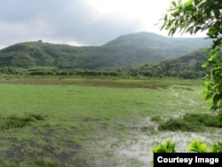 Khu vực dự án nằm dưới chân núi Phú Gia, chỉ cách đèo Phú Gia hơn 1km, và ngay sát Biển Đông.