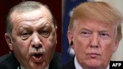 La conversación telefónica entre el presidente de Turquía, TayyipErdogan, y su homólogo estadounidense Donald Trump se produjo en la noche del lunes 14 de enero de 2019, en medio de las tensiones entre los dos países por el tema de Siria.