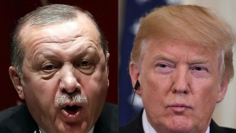 ٹرمپ ایردوان ٹیلی فون رابطہ، شام کے ساتھ 'سیف زون' کے قیام پر گفتگو