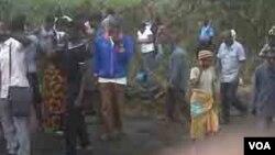 Wasu mutane a Fatakwal Najeriya