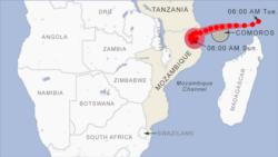 Ciclone Kenneth coloca norte de Moçambique em alerta
