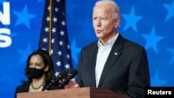 Ửng cử viên tổng thống của đảng Dân chủ Joe Biden nói hôm 5/11 rằng ông tin ông sẽ đắc cử