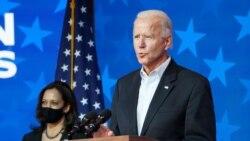 ကန္သမၼတေရြးေကာက္ပြဲ အၾကိတ္အနယ္ျပည္နယ္တခ်ဳိ႕မွာ Joe Biden မဲအသာရေန