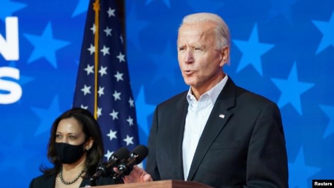 Ông Joe Biden đang rộng đường đến Nhà Trắng