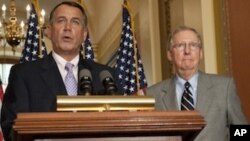 ادامه مذاکرات قانونگذاران ایالات متحده برای حل بحران قرضه