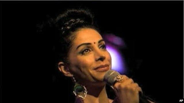 Swedish-Iranian stand-up comedian Zinat Pirzadeh