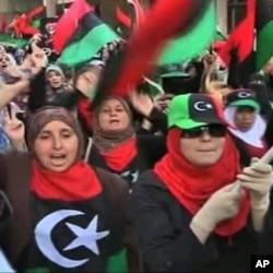 Συγκέντρωση διαμαρτυρίας γυναικών στην Λιβύη