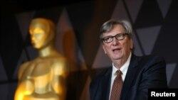 Presiden Academy of Motion Picture Arts and Sciences, John Bailey, saat hadir di sebuah acara di Beverly Hills, Calif., 2 Maret 2018. (Dok: REUTERS)