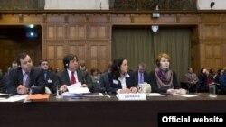 Представники інтересів України на слуханні в Міжнародному суді, фото 7 березня 2017 року