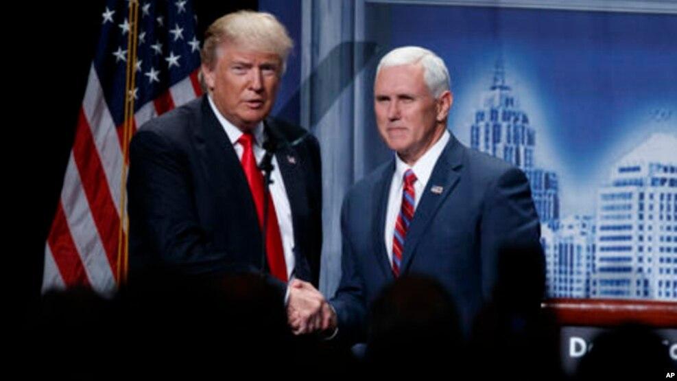 تنها یک روز دیگر ترامپ و معاون او مایک پنس رسما کارشان را رسما آغاز می کنند.