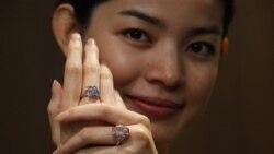 بزرگترين نمايشگاه الماس در هنگ کنگ افتتاح شد