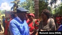 MDC Nelson Chamisa and Biti In Chinhoyi