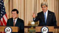 Vietnamese President in Washington Seeking New Relationship